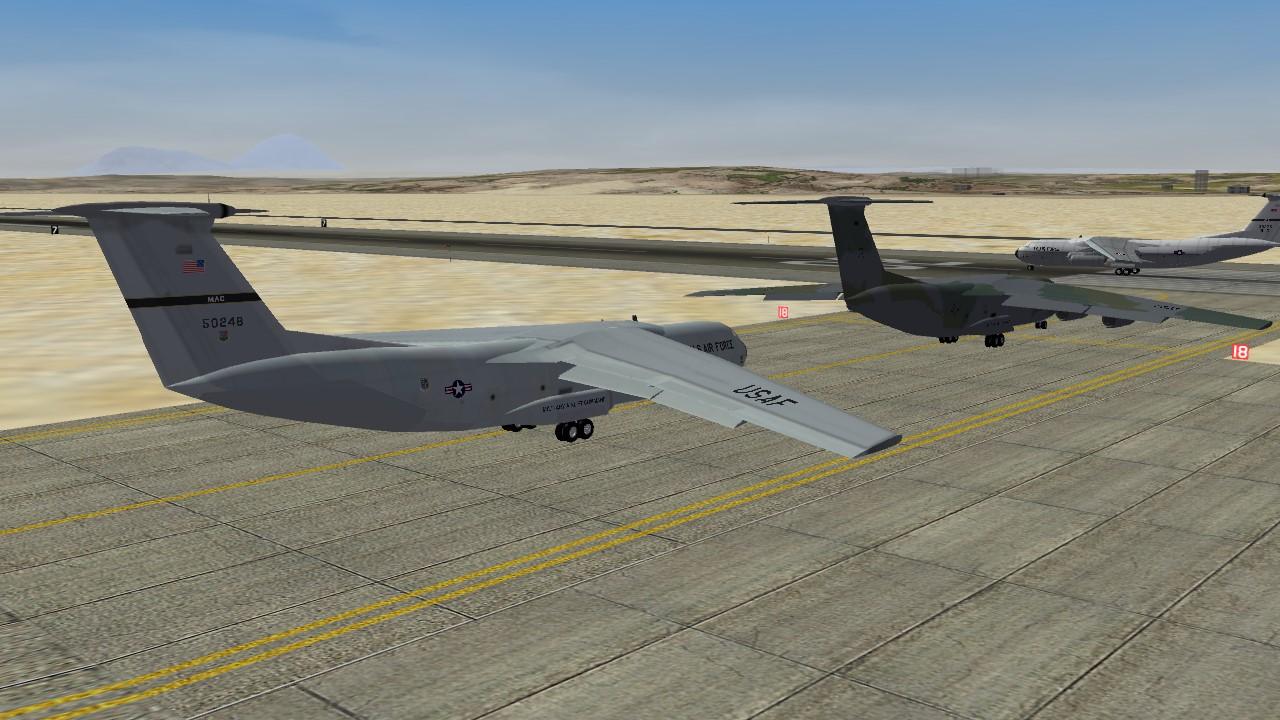 C-141A Starlifter Redux 2