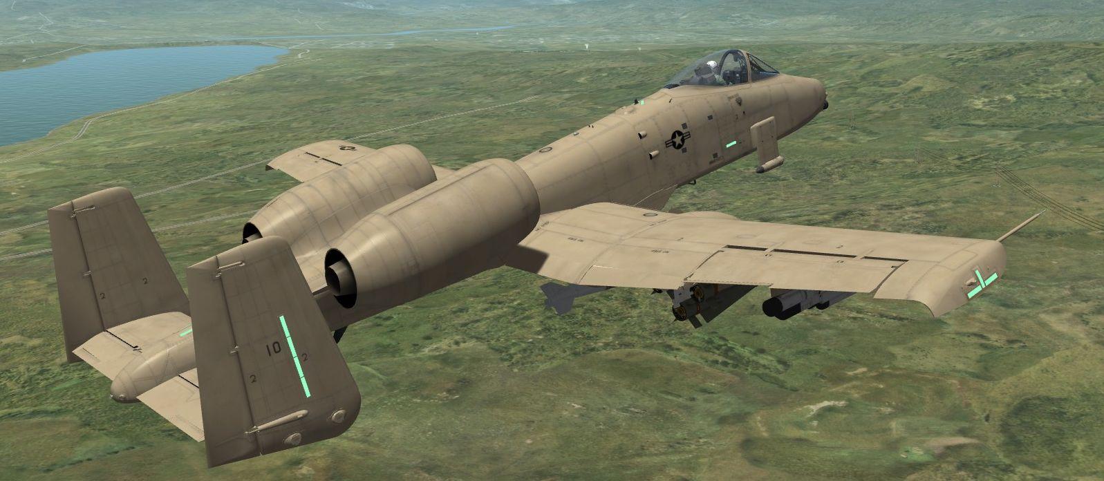 A-10A Pre-Production Scheme No. 4