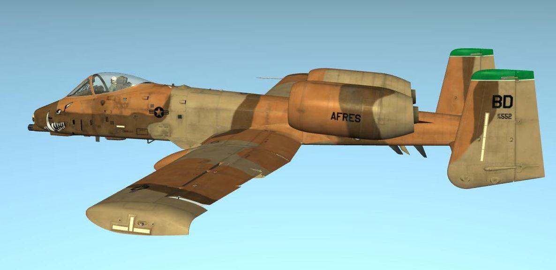 A-10A Peanut Scheme, 47th TFS, 91 TFG