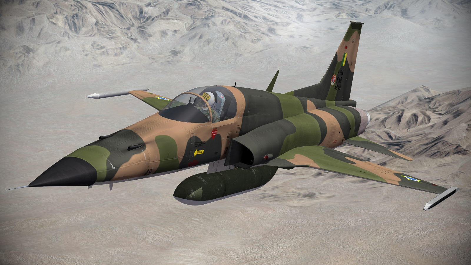 F-5E Early Versions Pack