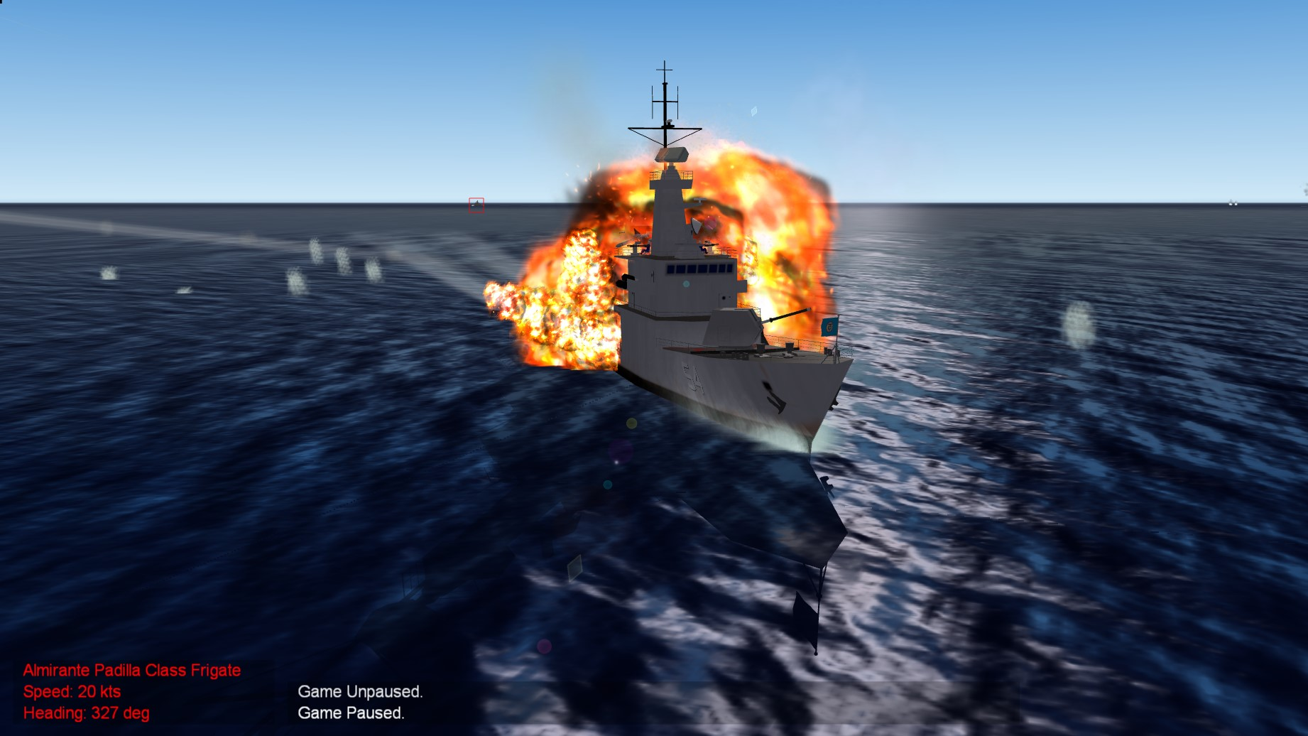 Almirante Padilla Class Light Frigate