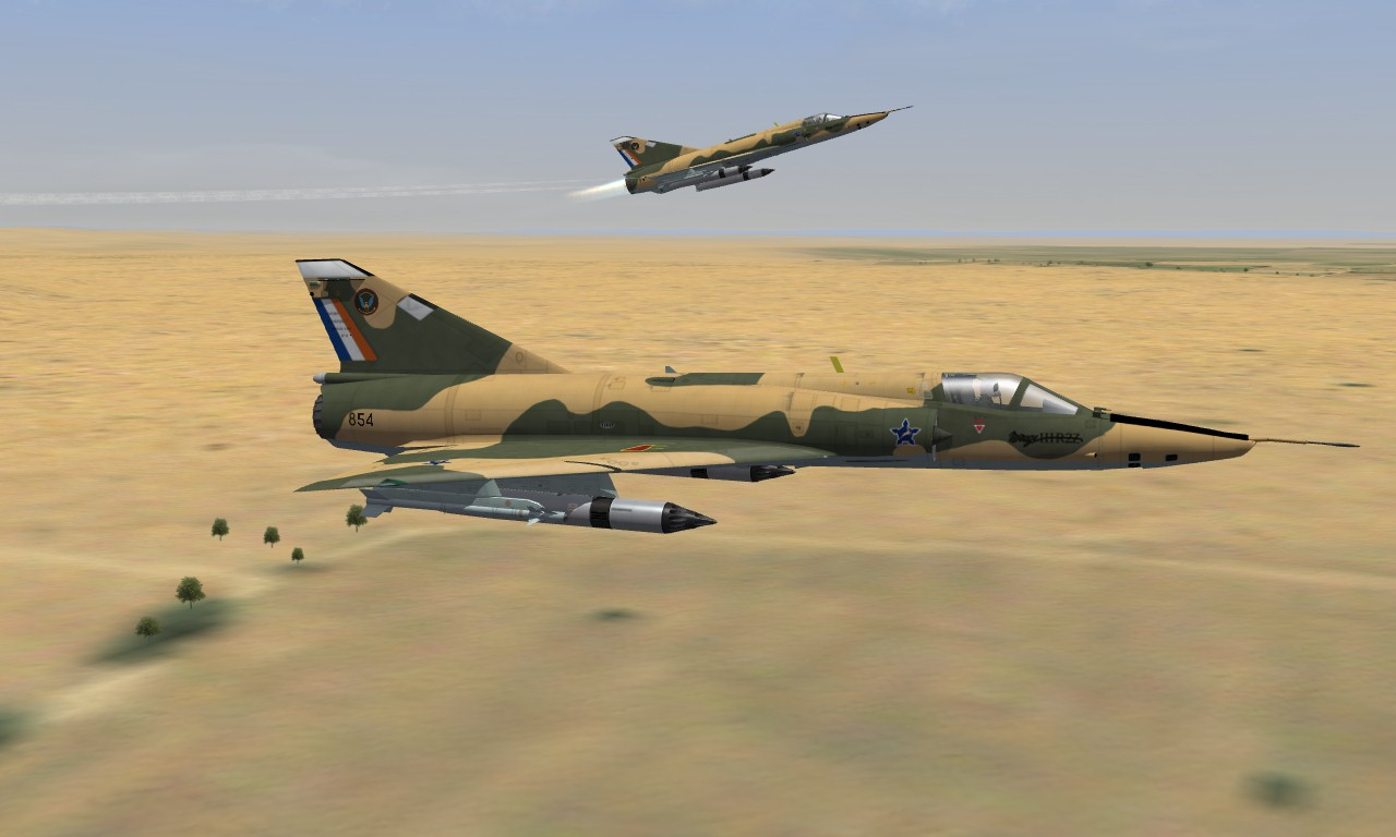 Mirage IIIR2Z South African Air Force