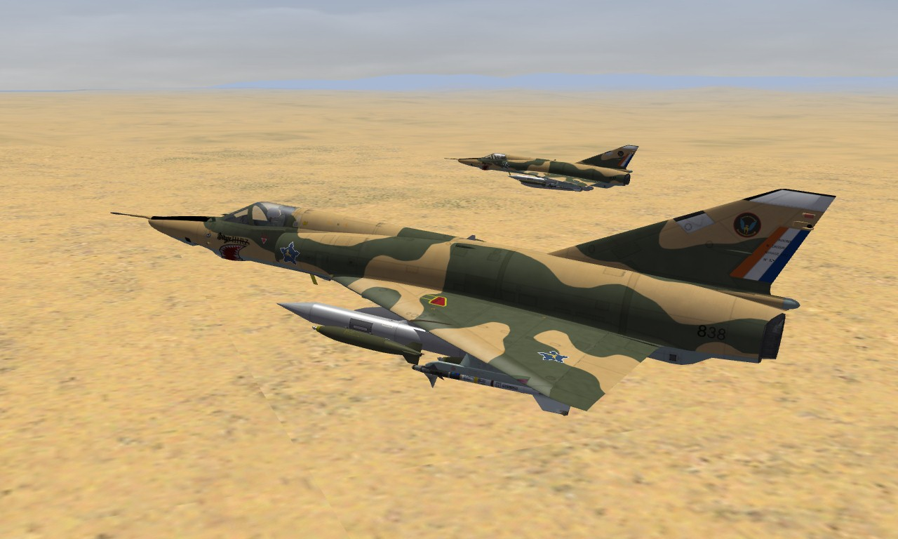 Mirage IIIRZ South African Air Force