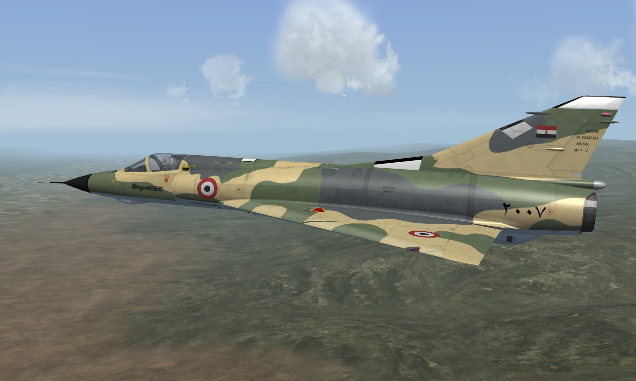 Mirage M5SDE Egyptian Air Force