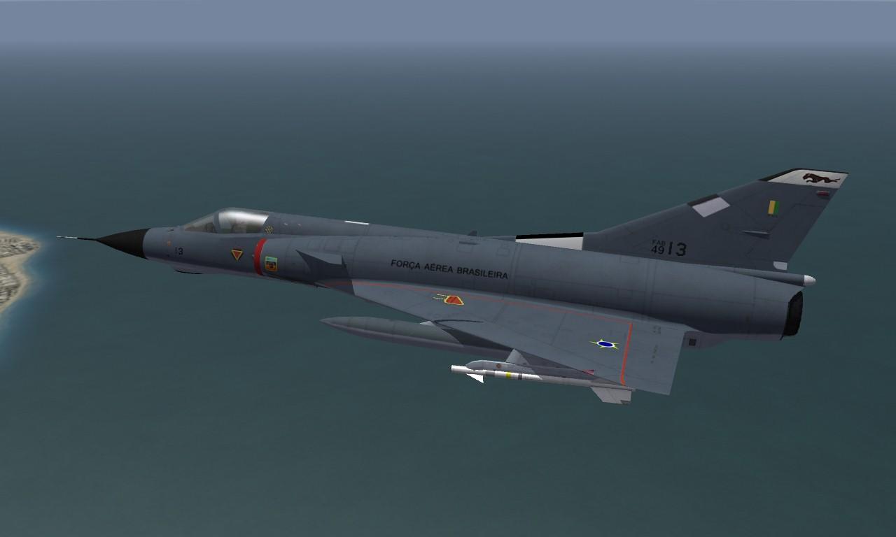 F-103 Mirage IIIEBR Brazilian Air Force V.2.0