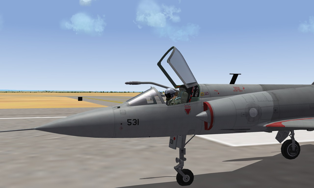 Mirage IIIO Rose I  Pakistan Air Force