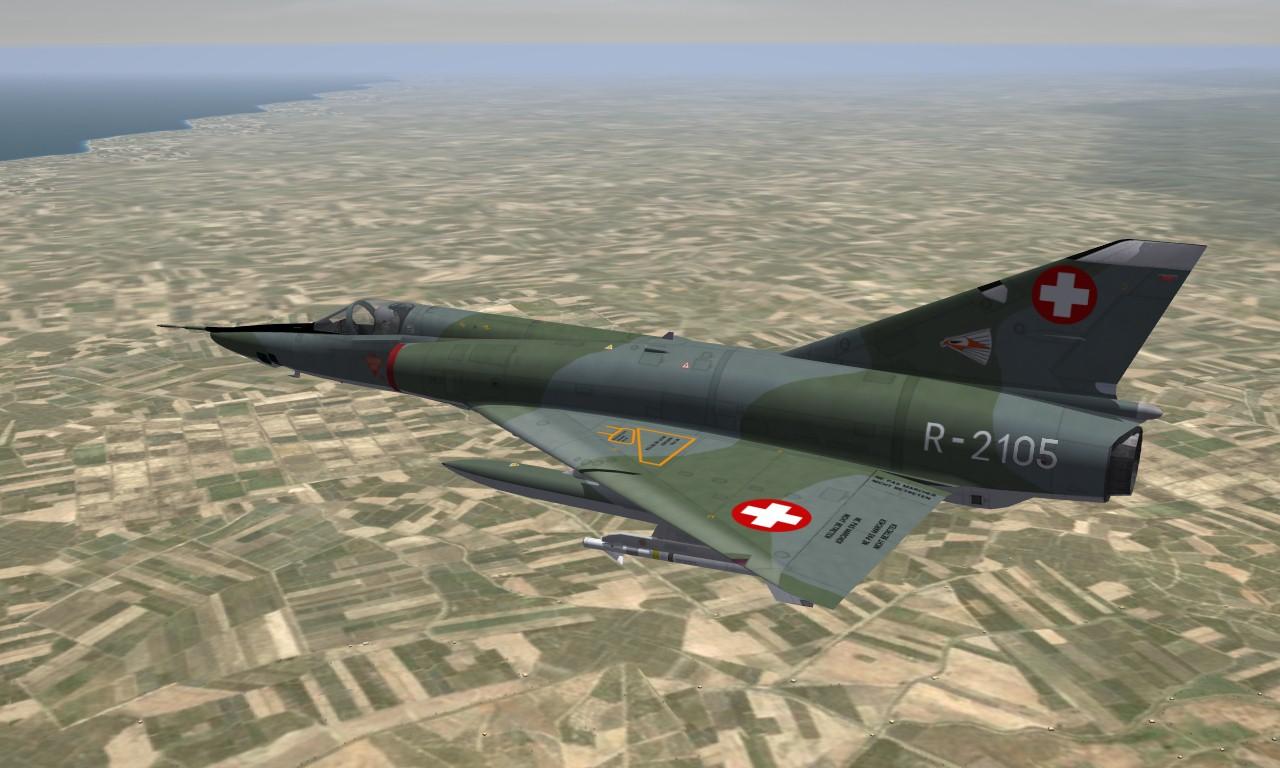 Mirage IIIRS Swiss Air Force (EARLY)