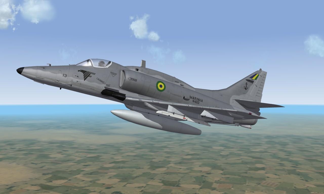 AF-1 Brazilian Navy