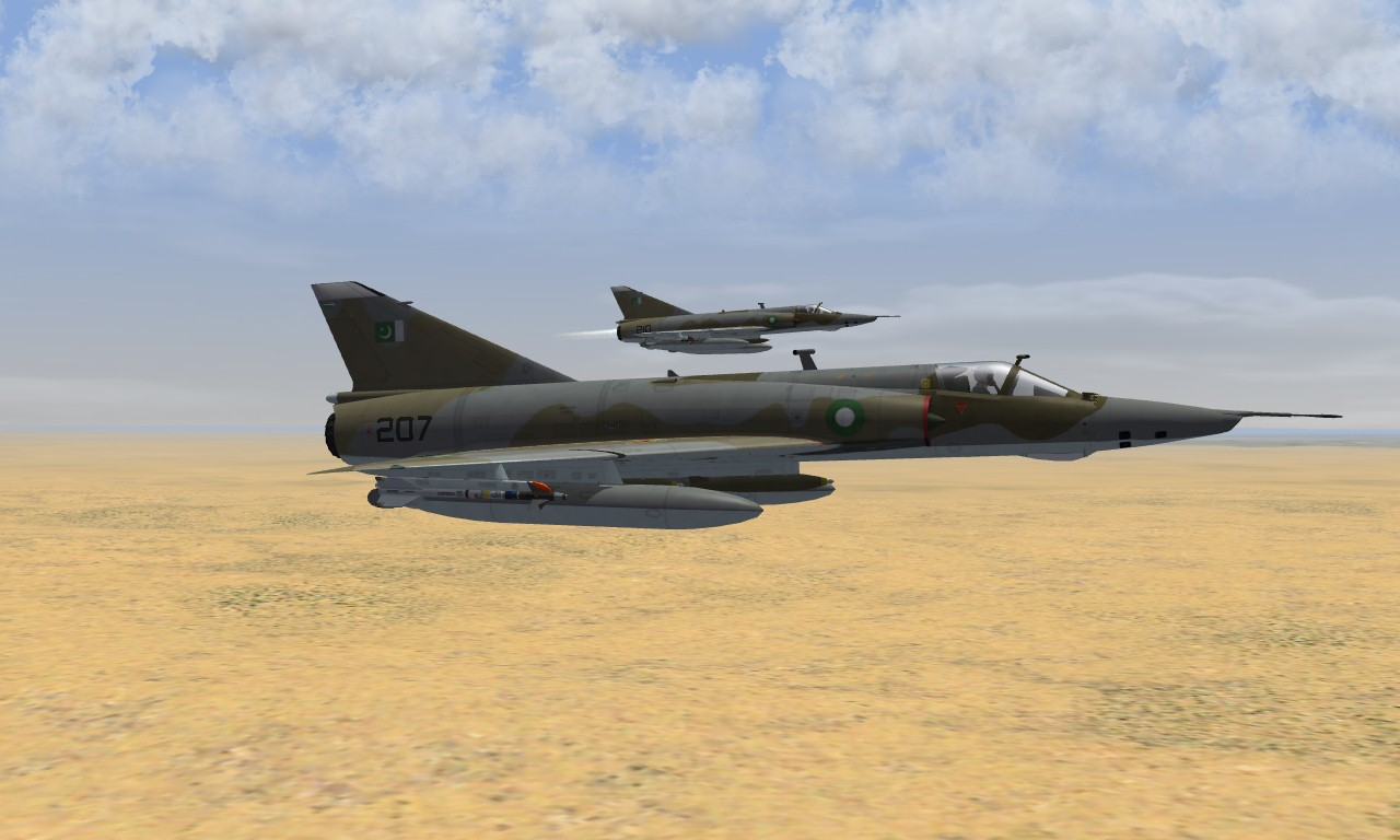Mirage IIIRP PAF