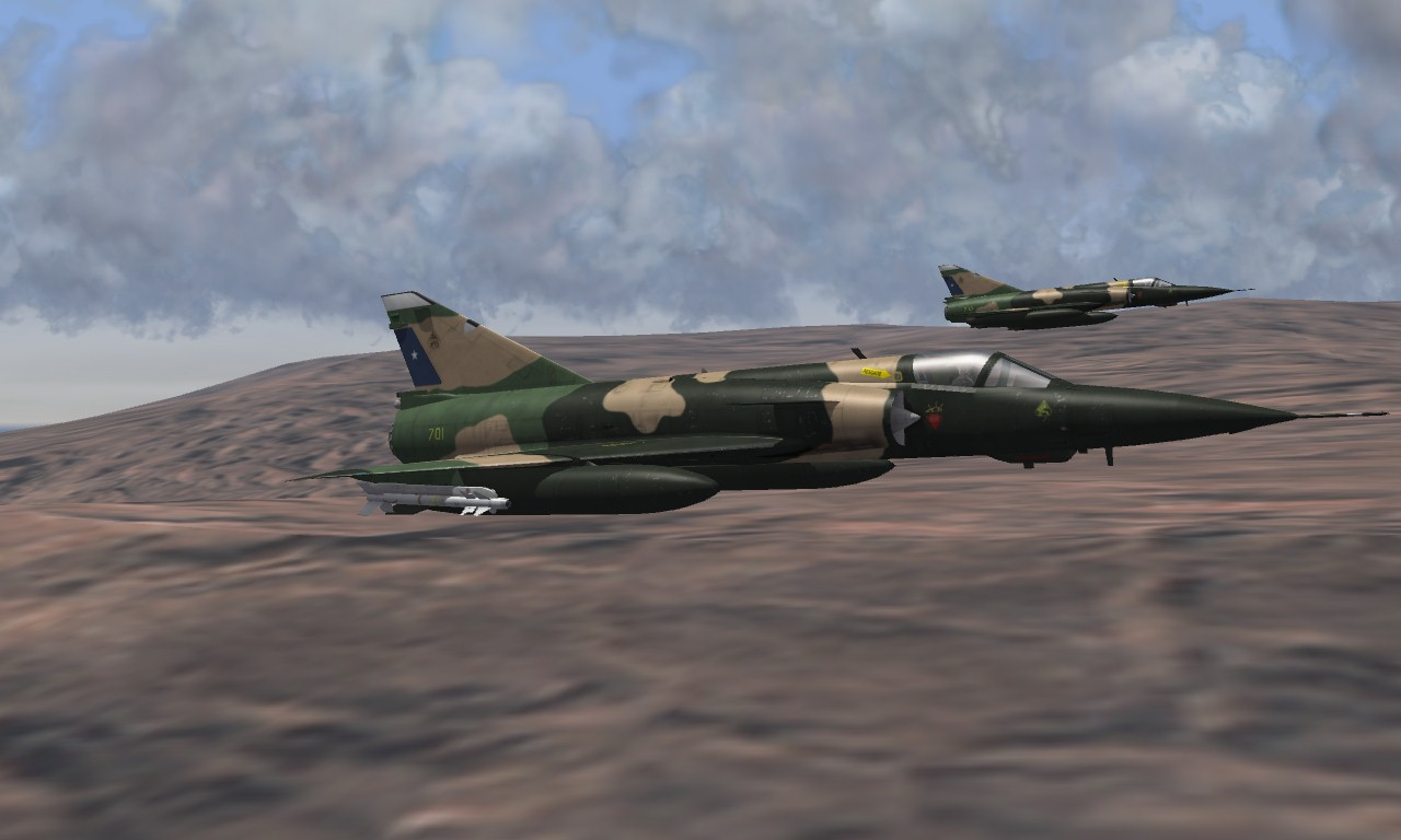 """MIRAGE M-5M """"ELKAN"""" (Early) Chile Air Force"""
