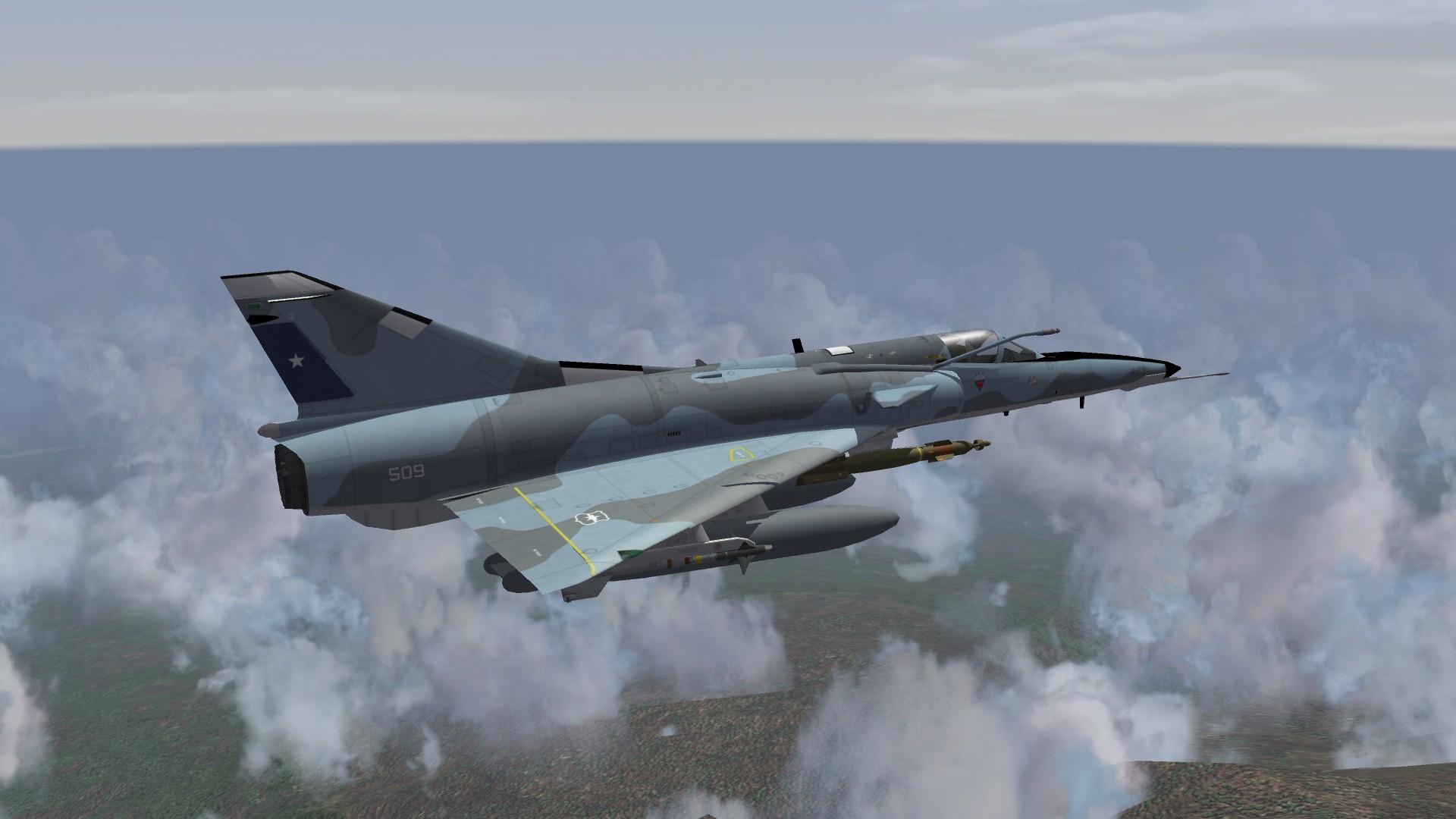 Mirage 50CN Pantera - Thirdwire: Strike Fighters 2 Series