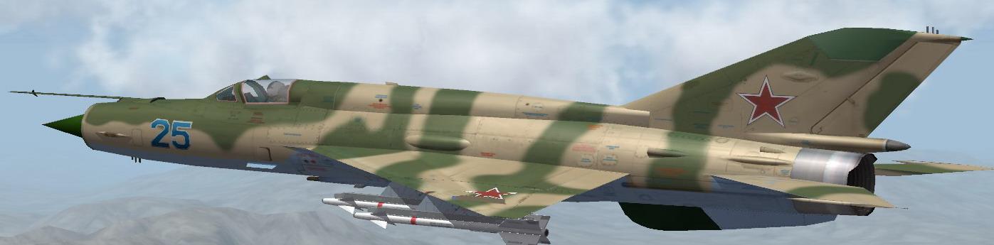 MiG-21 SM camo1980