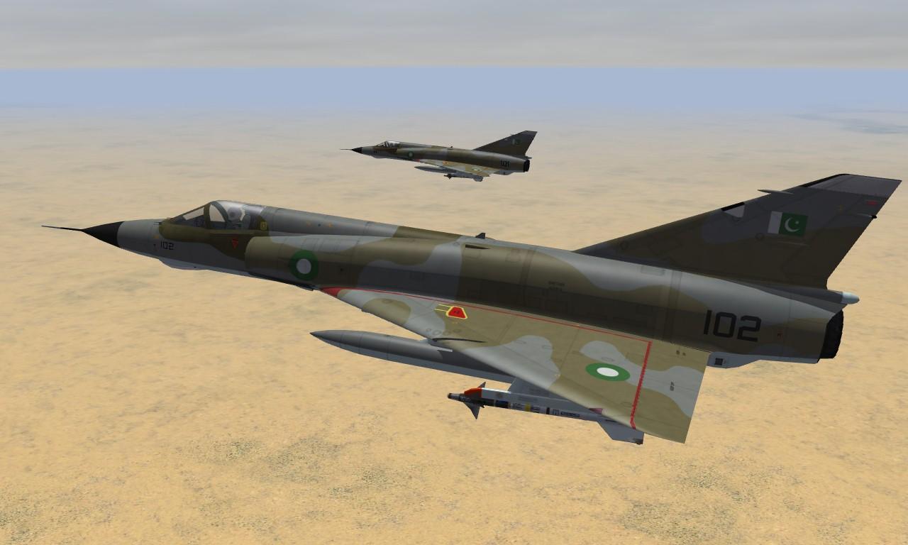 Mirage IIIEP PAF