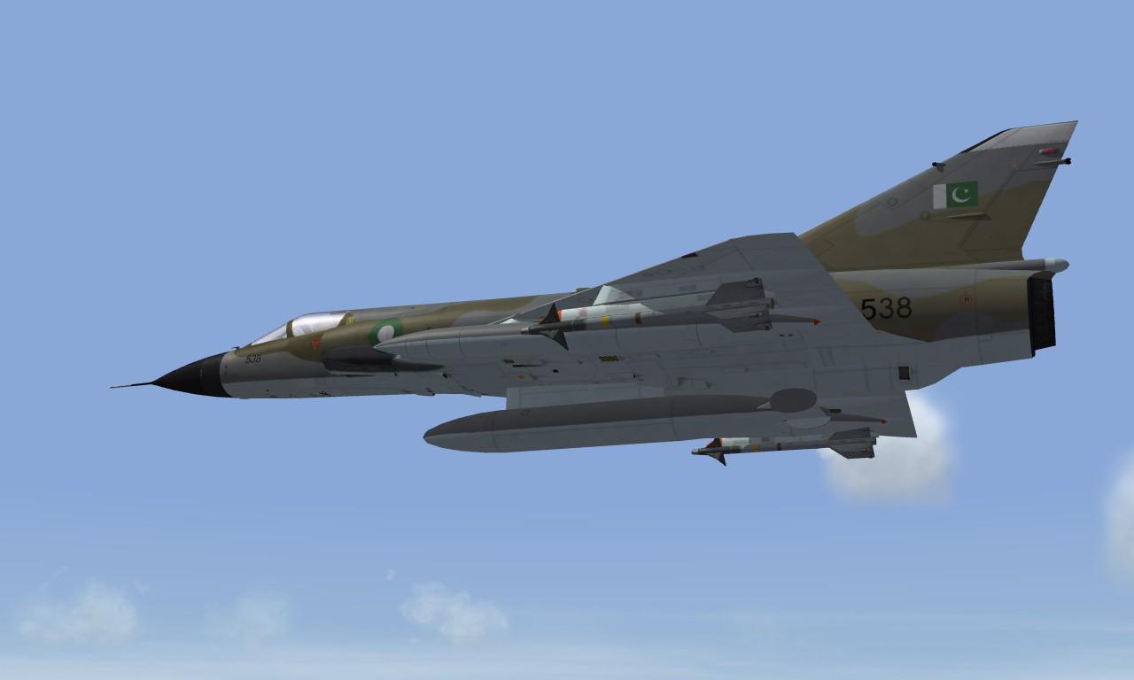 Mirage IIIO ROSE PAF
