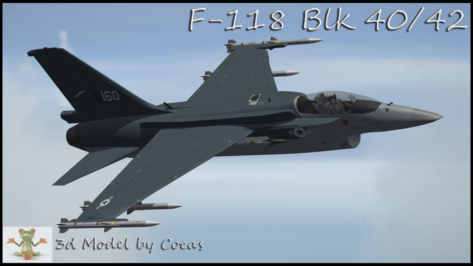 Vought F-118 Raider - United States Air Force Pack