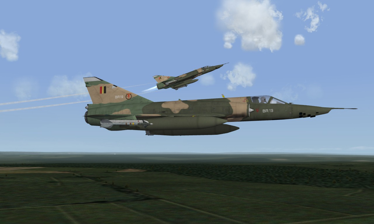 Mirage 5BR Belgian Air Force
