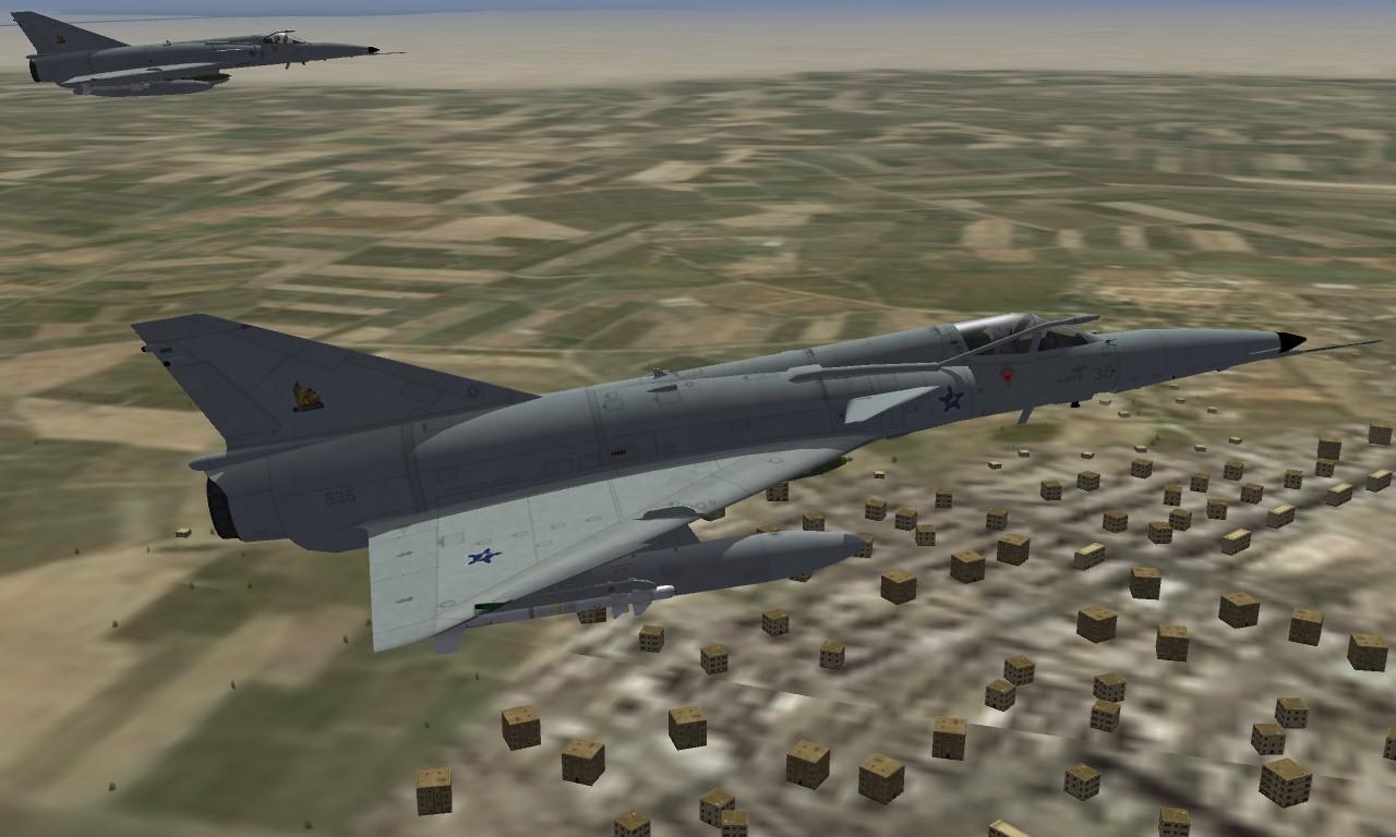 Atlas Cheetah E south african Air Force