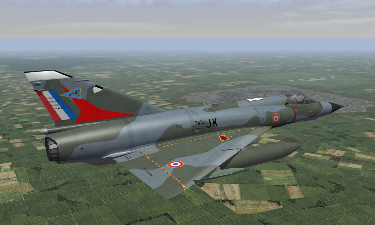 Mirage IIIE Armée de l'Air
