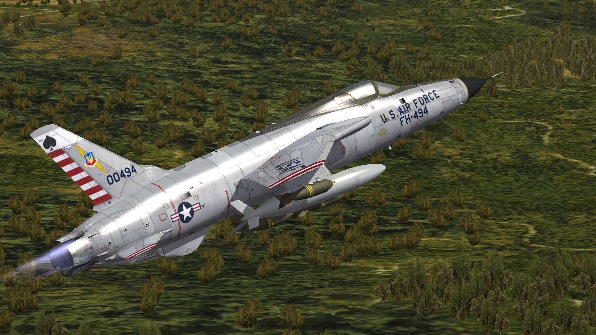 Hi res TW F-105D templates