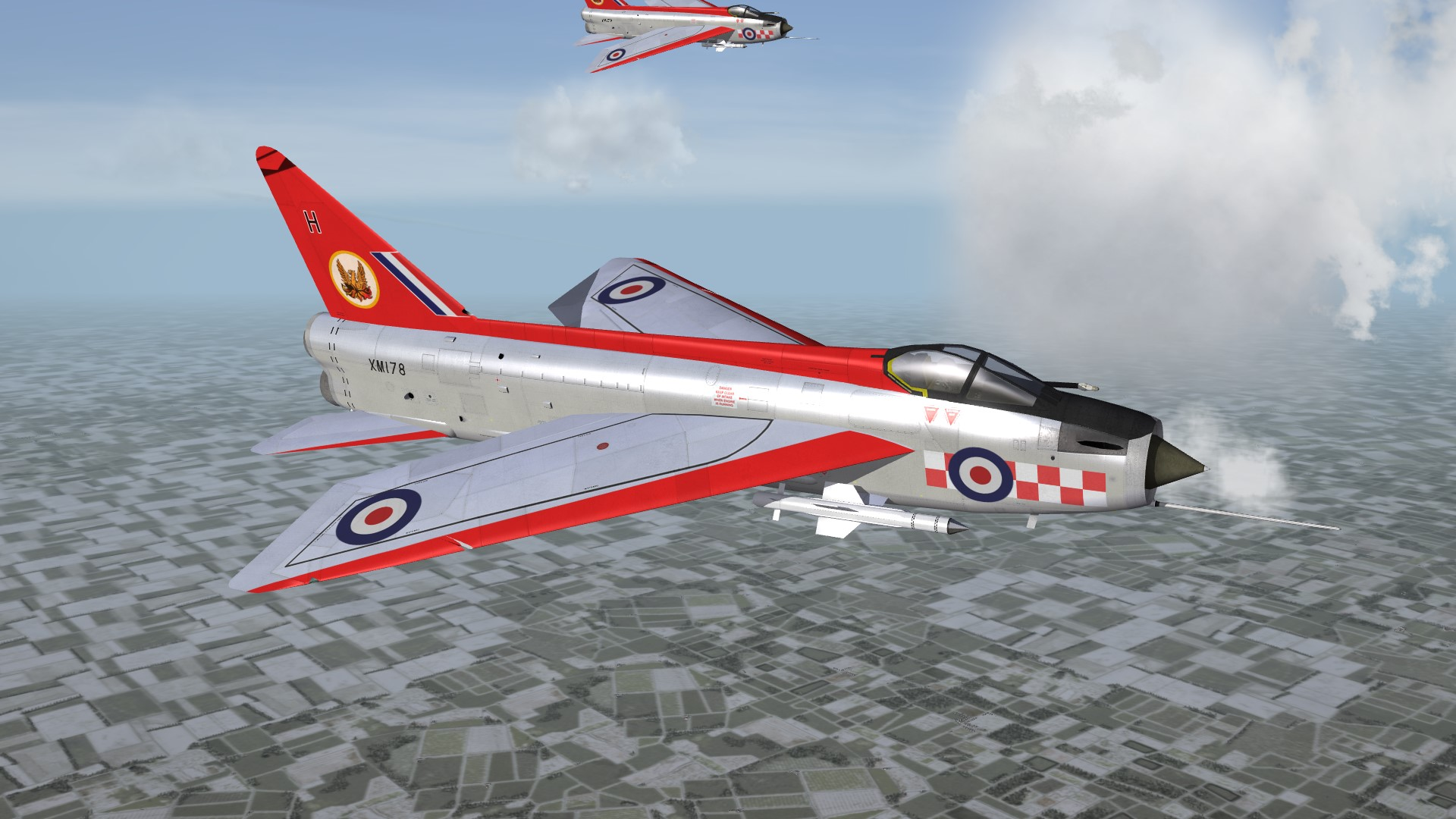 E.E. Lightning F.1A Upgrade Skin Pack