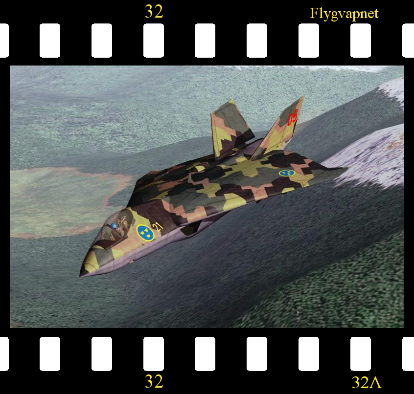 [Fictional] Flygvapnet Skin for Cocas' F-32