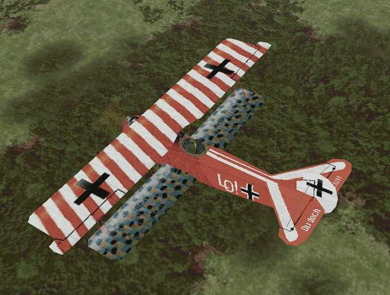 A-18-109K Fokker DVII Ernst Udet