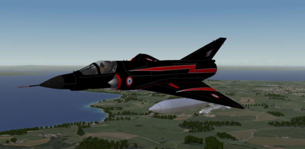 "Mirage III ""Sky Fighters"" Skin"
