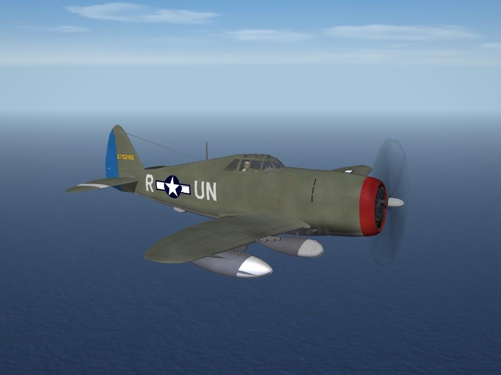 "SF2 WW2 ETO Republic P-47D ""Razorback"" Thunderbolt  by Cocas"