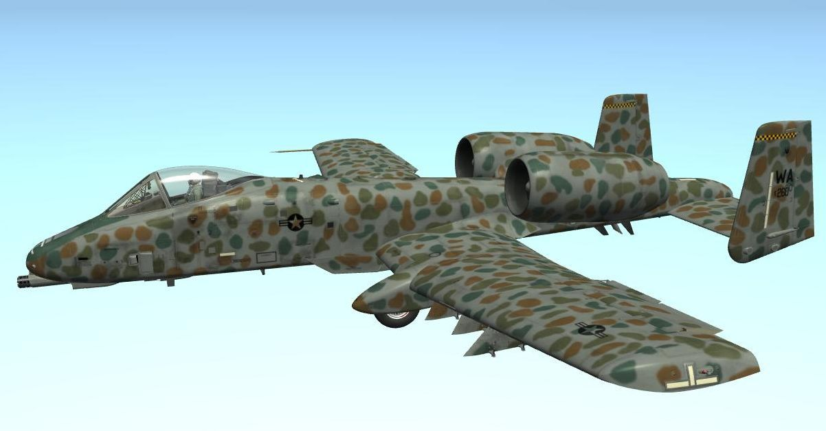 A-10A JAWS No.2 Skin