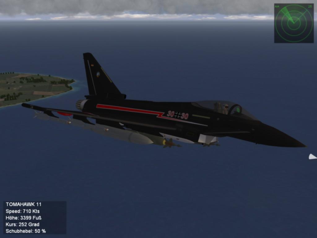 German Typhoon 30+30 Solo Display