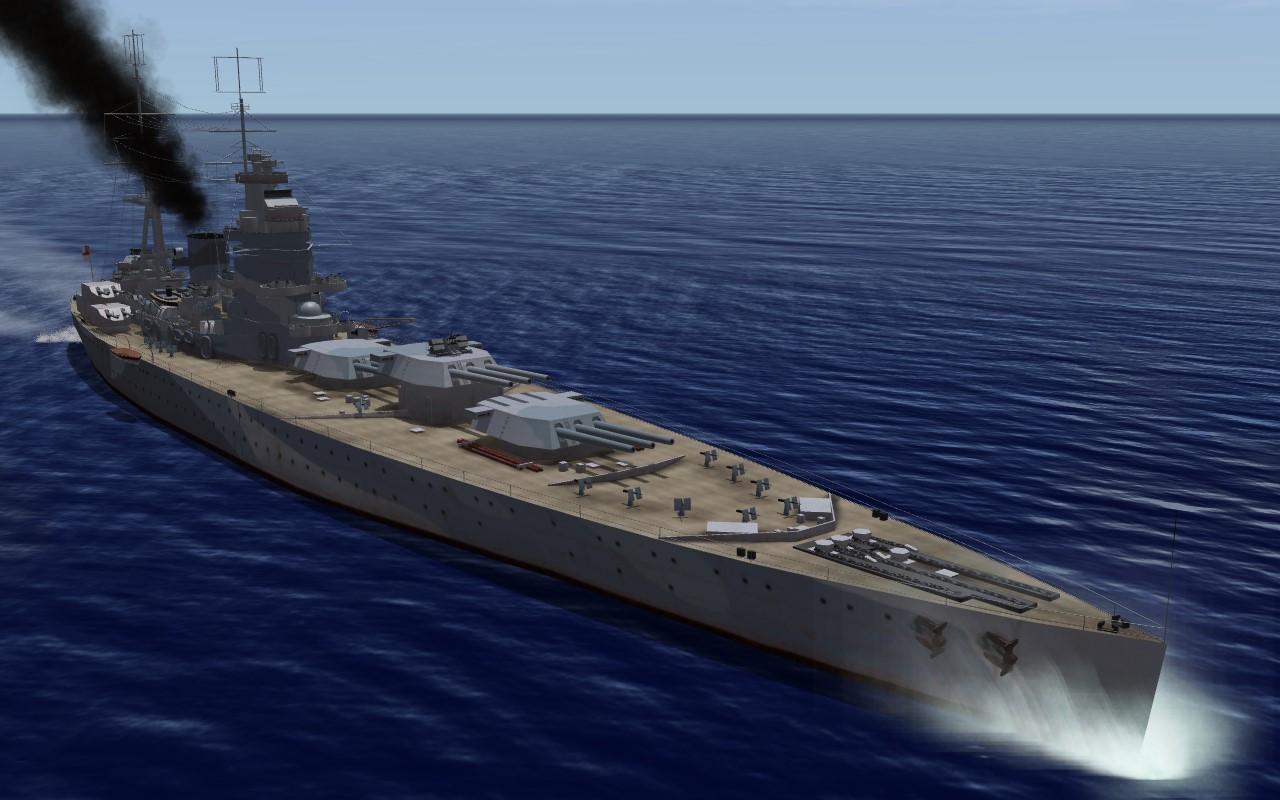 SF2:NA Nelson Class Battleship
