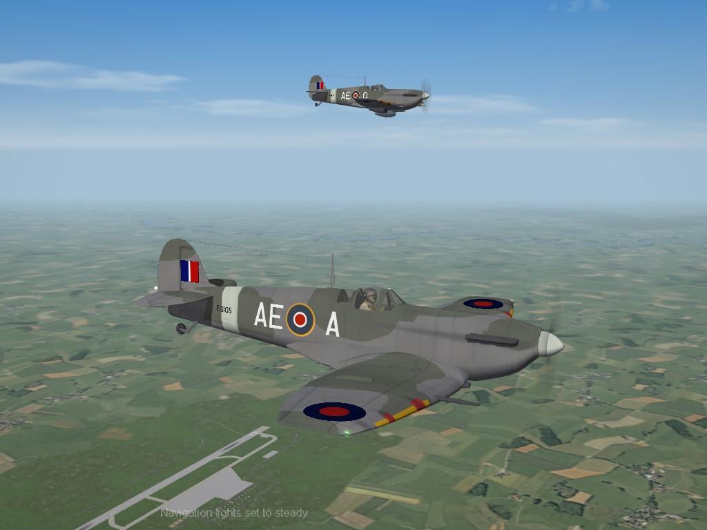 SF2 WW2 ETO Spitfire Mk.V LF Pak by Cocas