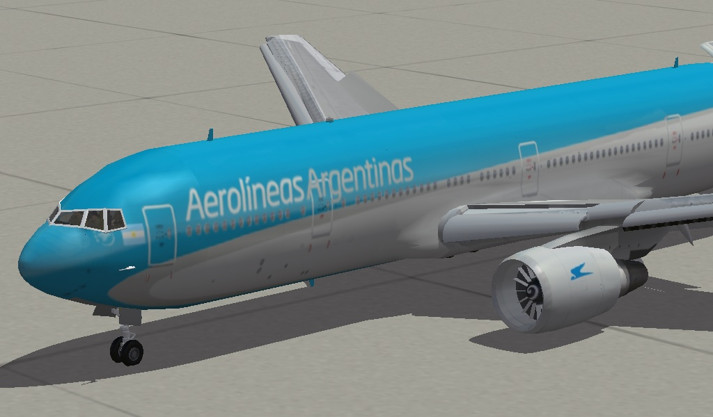 Boeing 767 Aerolineas Argentinas Skin