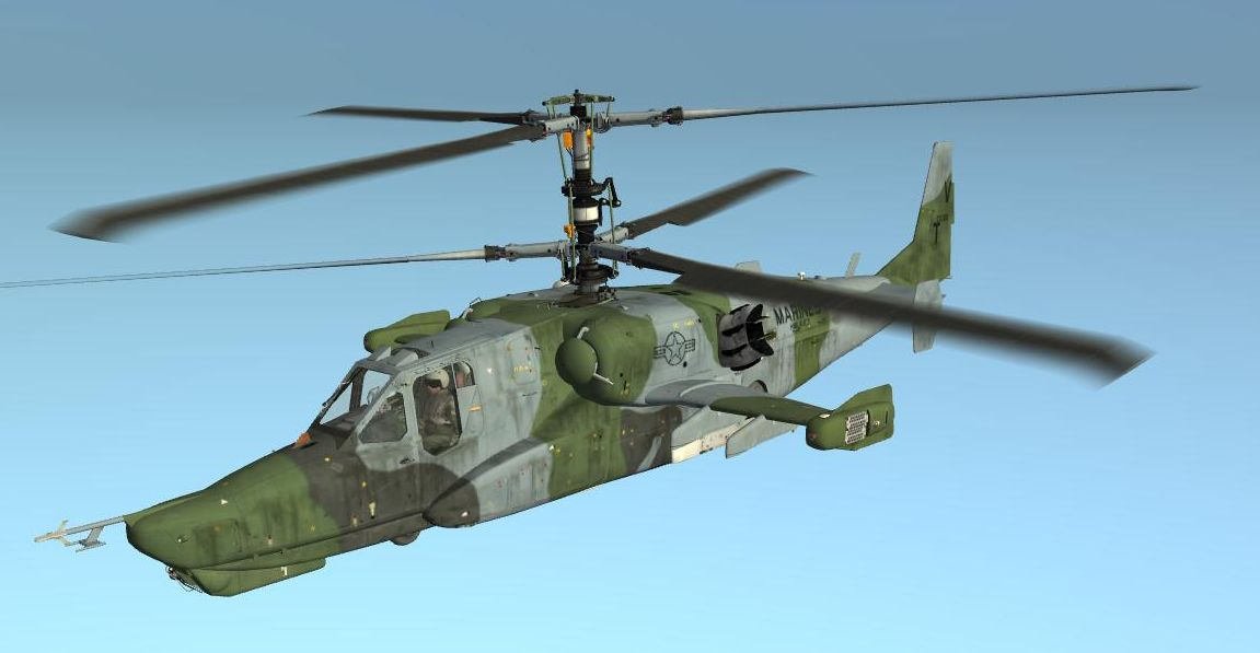 Ka-50 HMLA-167 Early [Fictional]