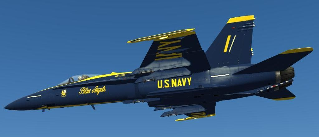 F/A-18C Blue Angels 1-6