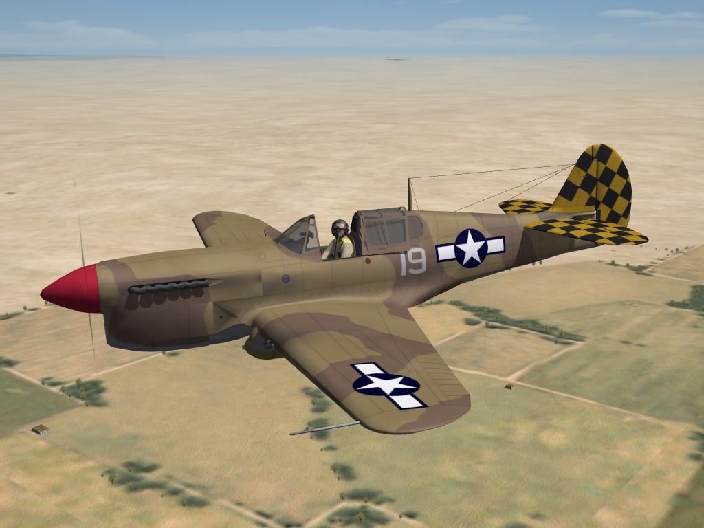 SF2 WW2 MTO P-40L Pak by Raven