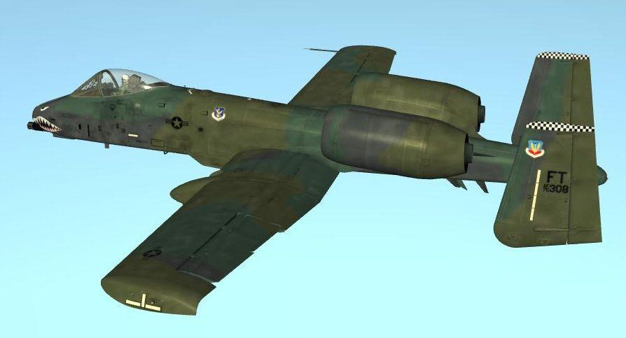 A-10A FT 75-308