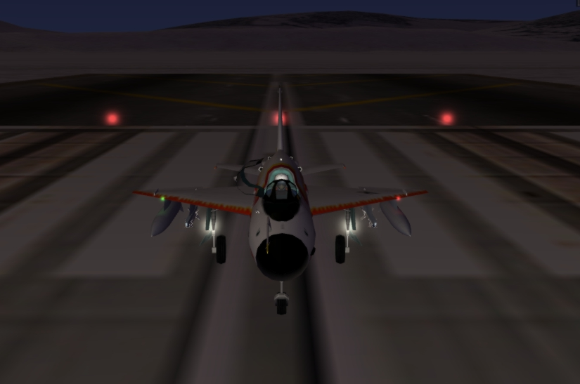 MiG-21 landing lights - Thirdwire: Strike Fighters 1 Series