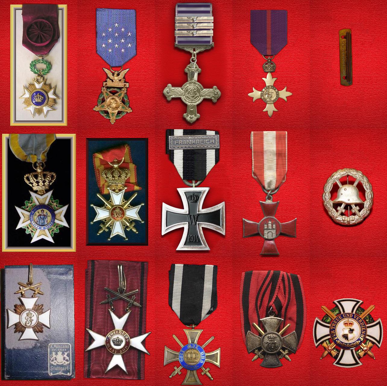 WWI Alternative Medals Pack for FE - December 2015 update