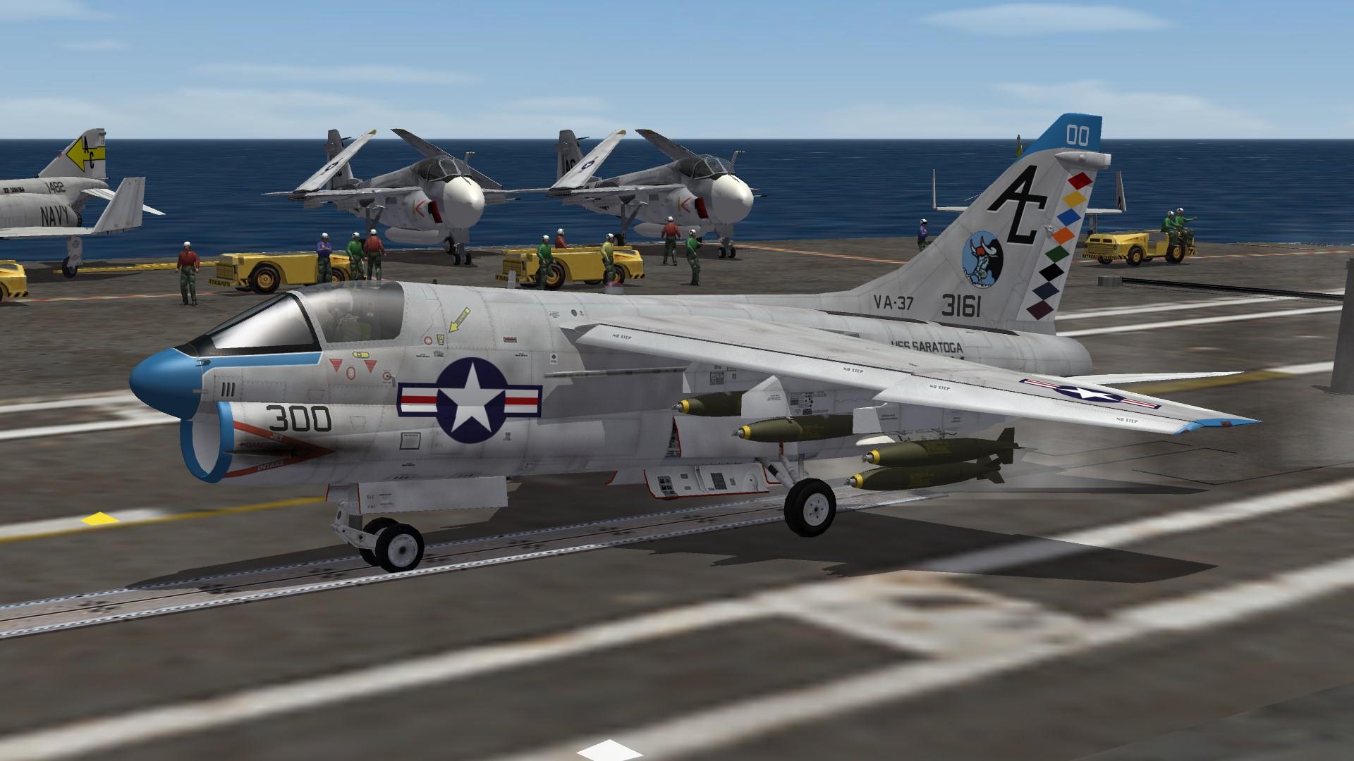 A-7A VA-37 Skin