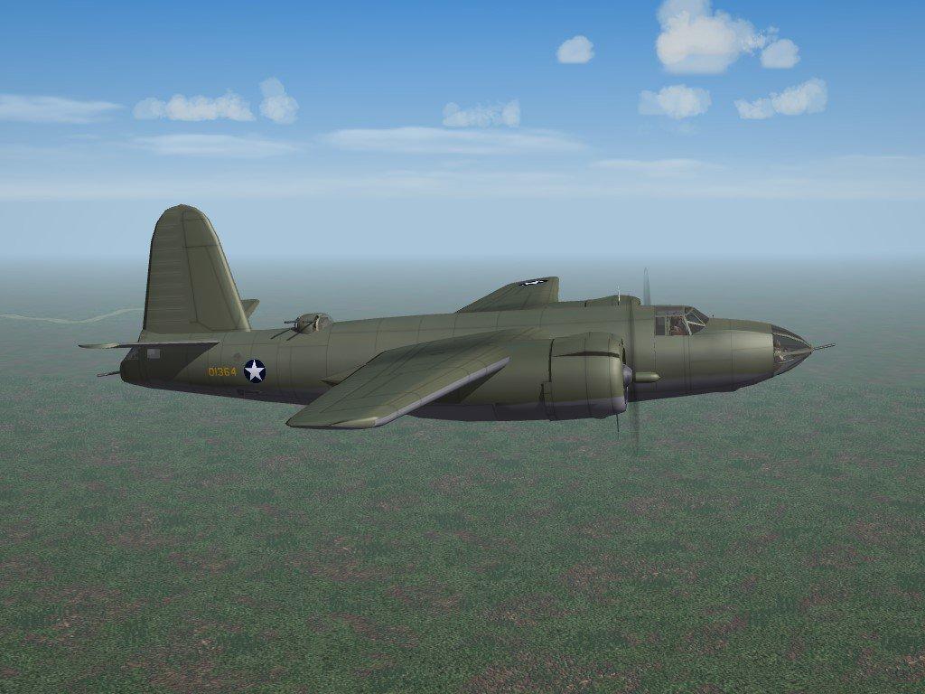 SF2 WW2 PTO B-26B Marauder Adjustment Pak