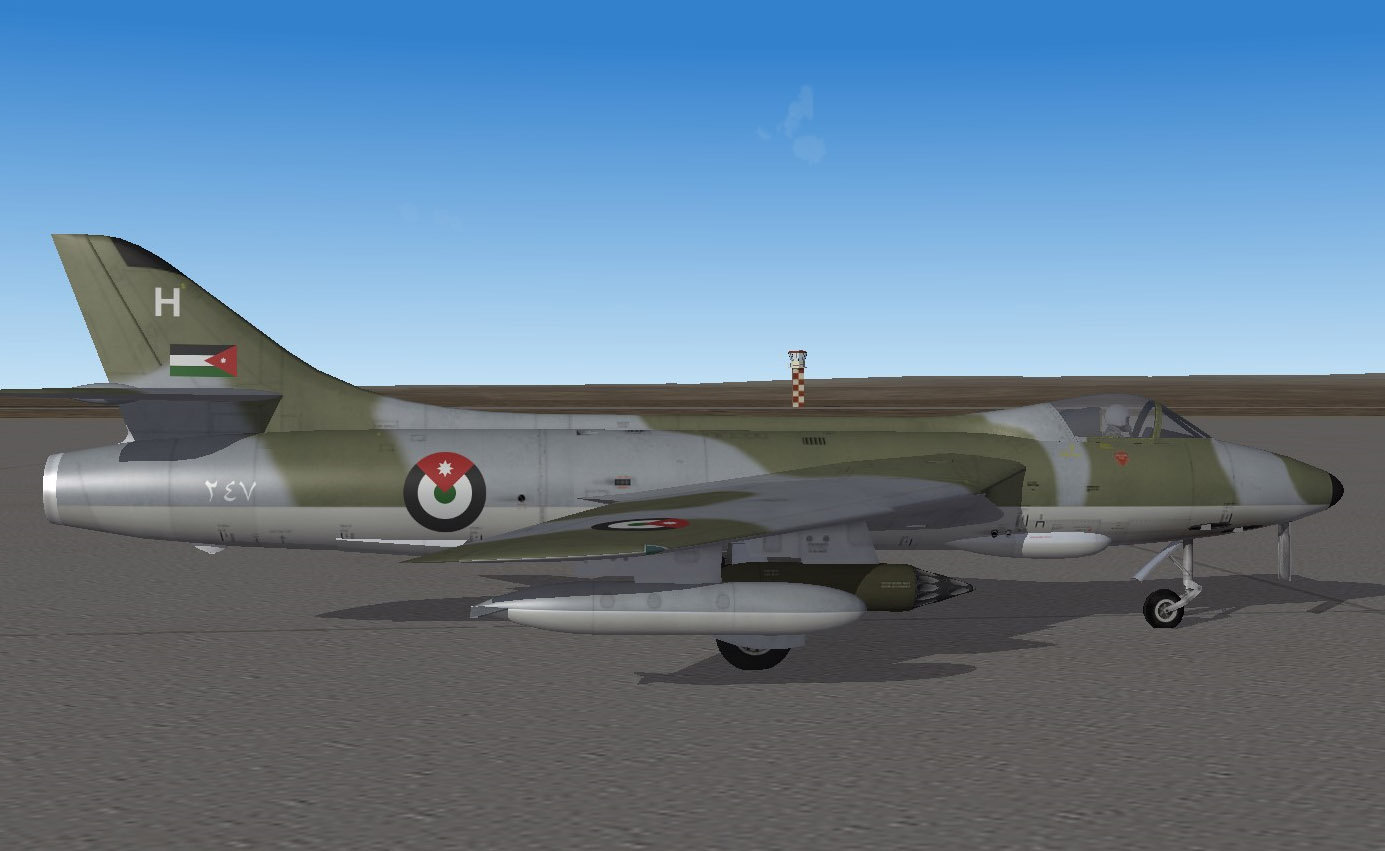 RJAF No.1 Sqn Hunter 6 Six Days War