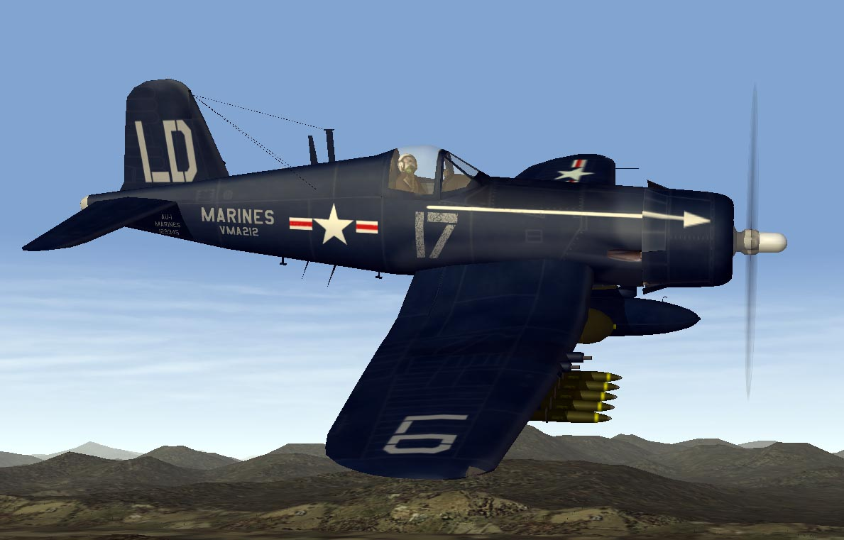 SF1 Korean War Corsair Pack for TMF F4U7/AU-1