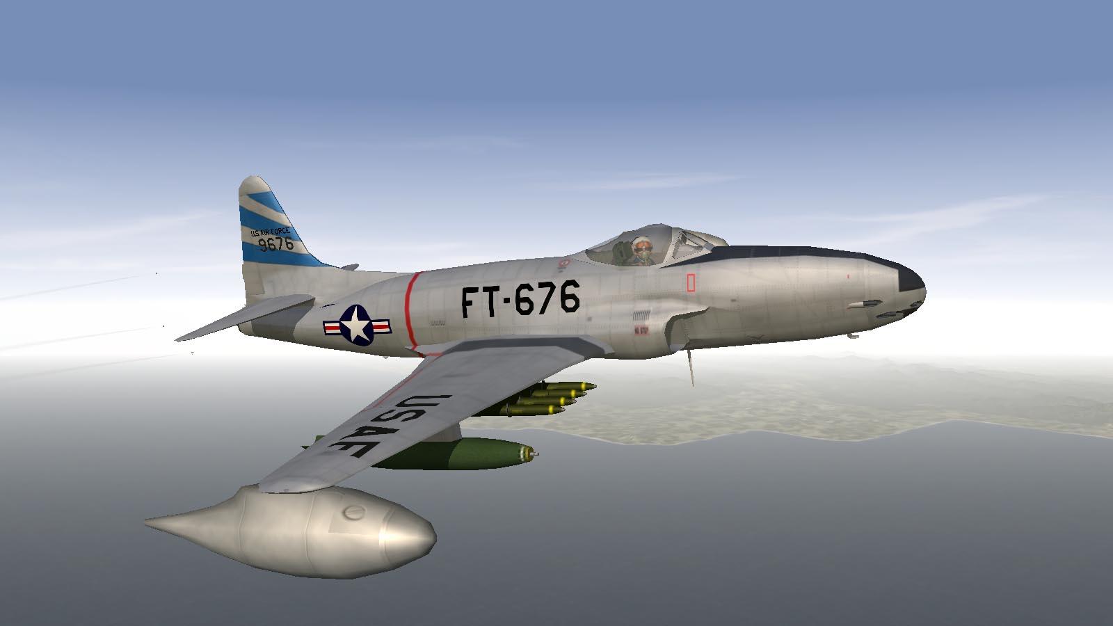 SF1 F-80C/T-33A/F-94B/RF-80A KAW Skin Pack