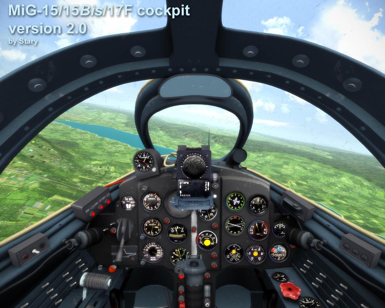 Mig-15 / Mig-15 bis / Mig-17 cockpit