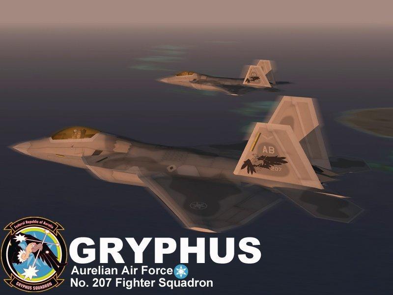 F-22A Gryphus Squadron (Ace Combat X)