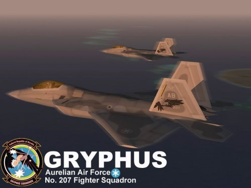 Screenshot for F-22A Gryphus Squadron (Ace Combat X)