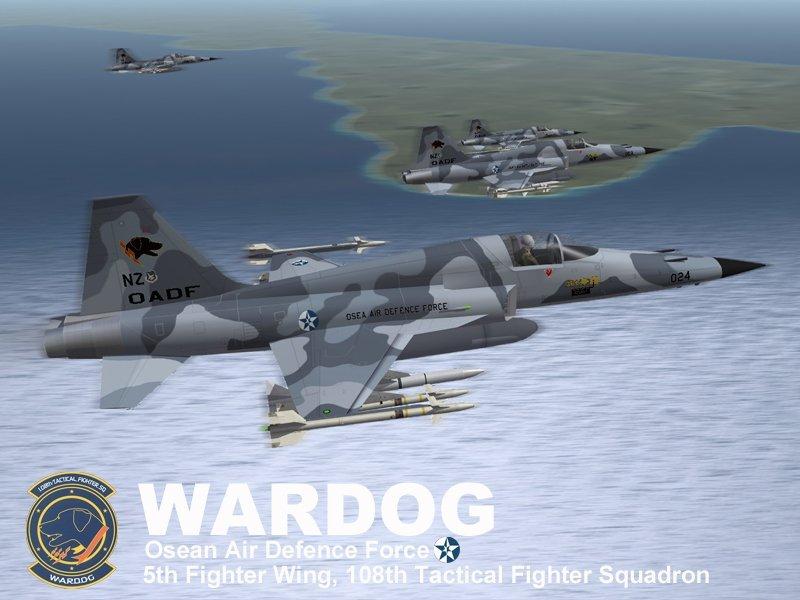 F-5E Wardog Squadron (Ace Combat 5)