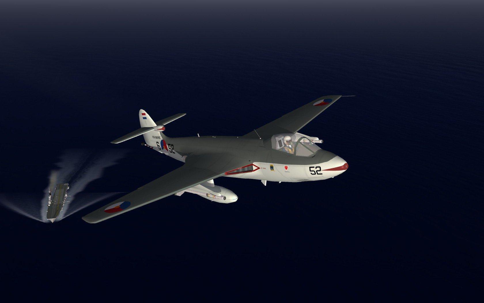 SeaHawk Mk-50 + HNLMS Karel Doorman combo