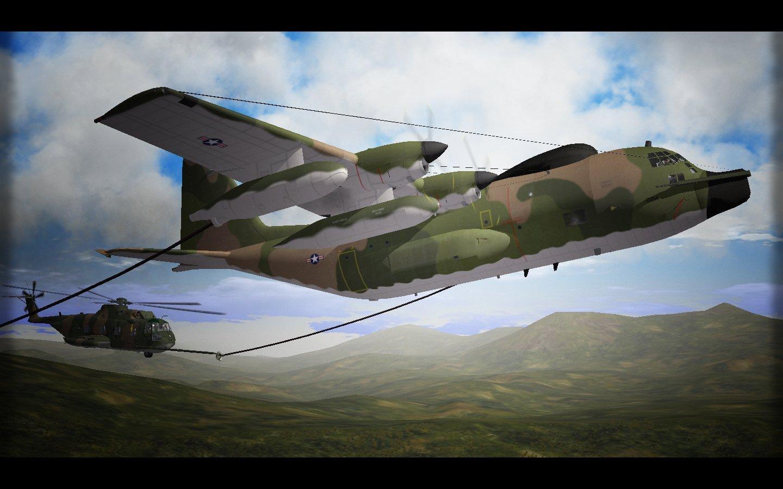 Special Hercules Over Vietnam